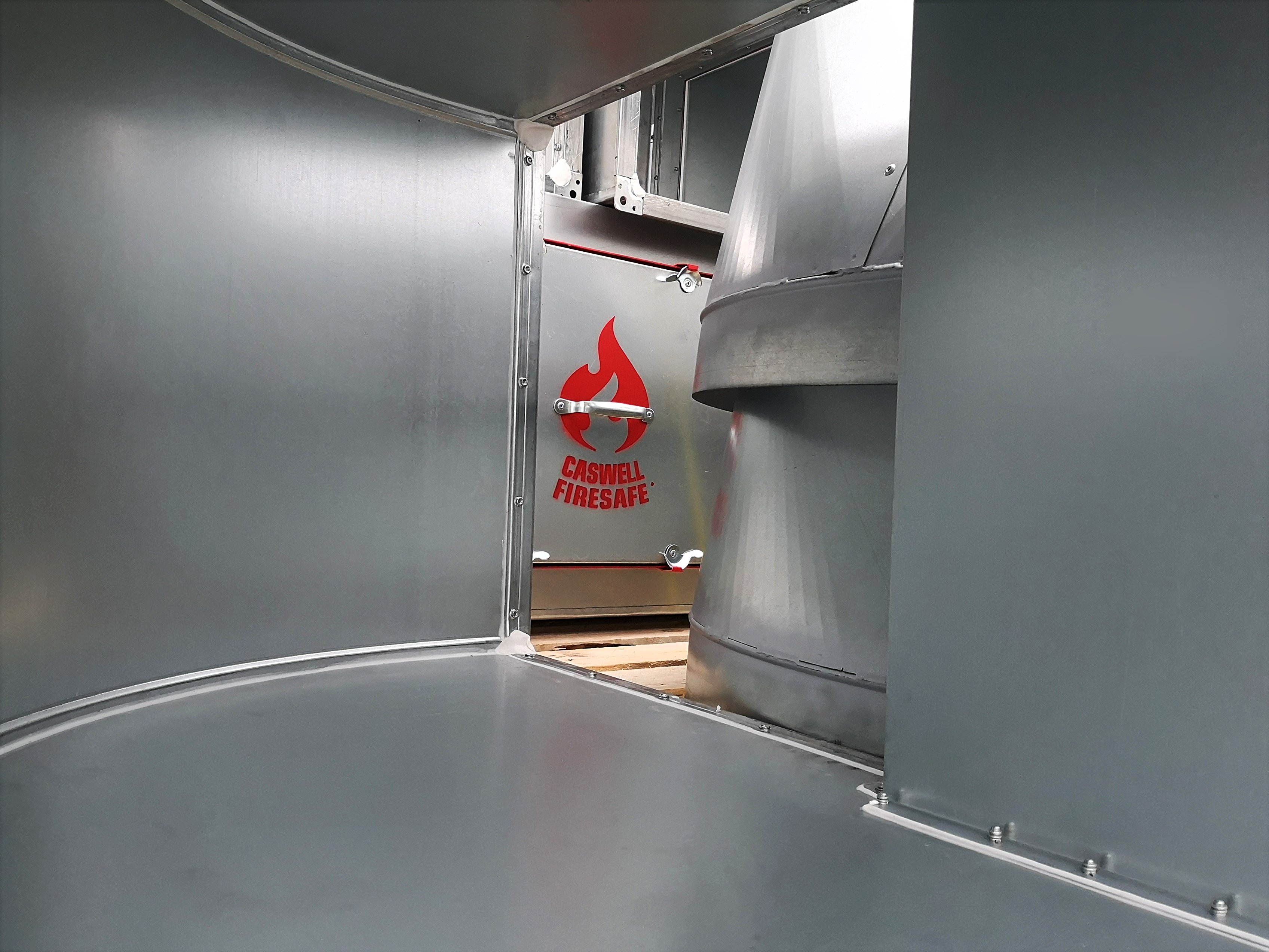 CASWELL FIRESAFE®,ductwork,fire rated, fire resisting, non-coated,caswellfrd