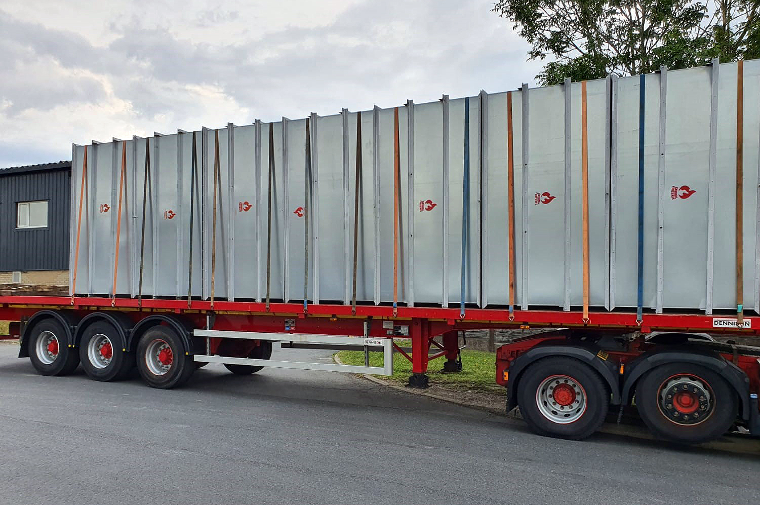 CASWELL FIRESAFE® ductwork on its way to Paddington Village, Liverpool