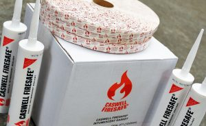 CASWELL FIRESAFE® Branded Intumescent Sealant & Gasket